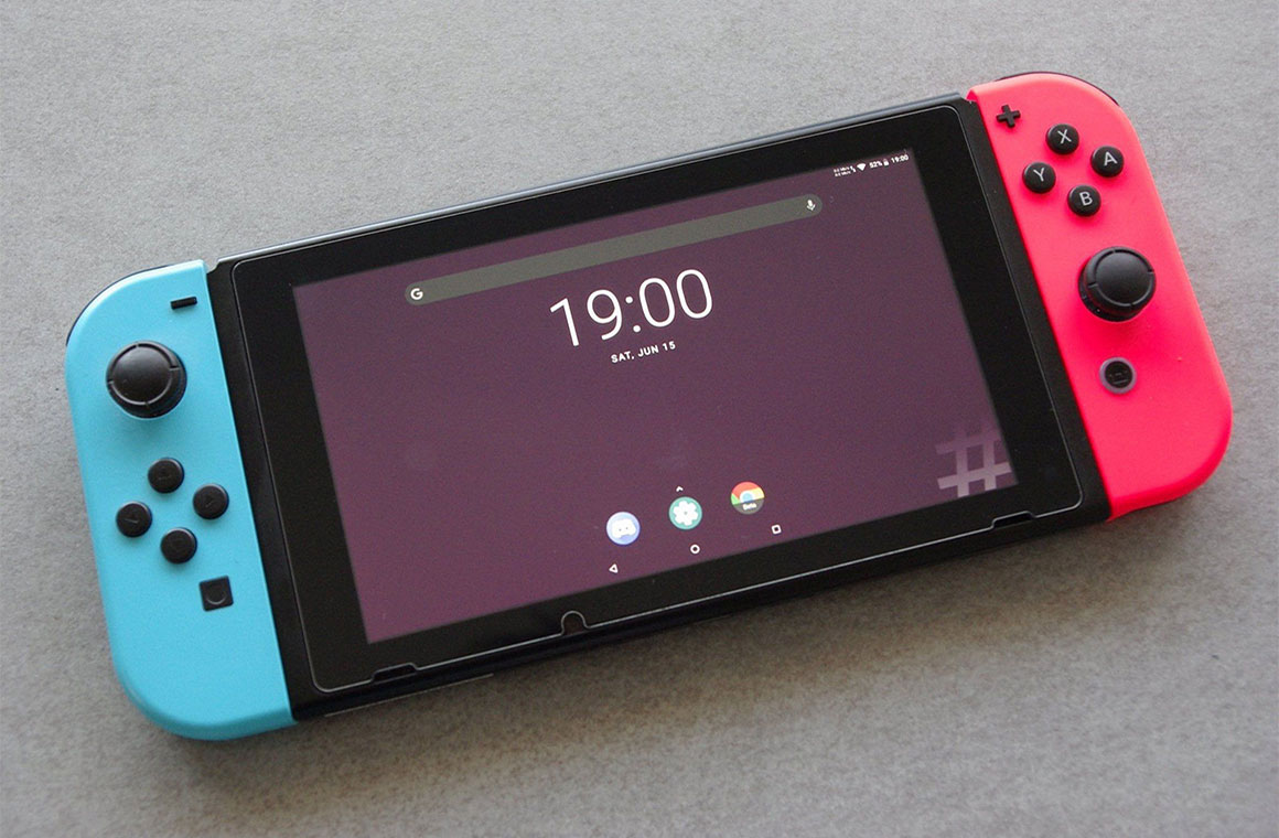 Порт Android для Nintendo Switch