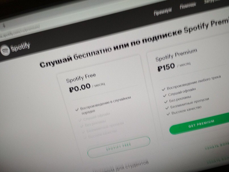 spotify russia price
