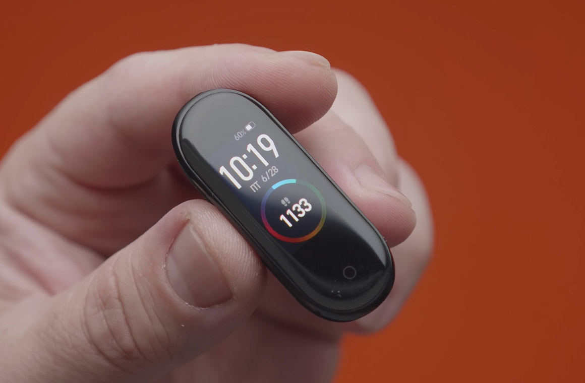 xiaomi mi band 4 display