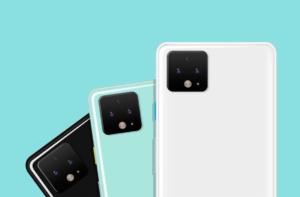 Google Pixel 4 сзади