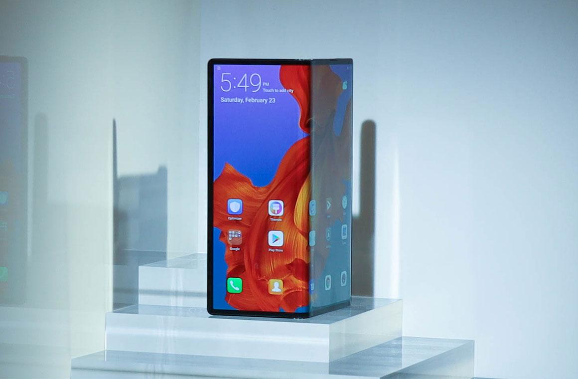 Huawei Mate X гибкий экран