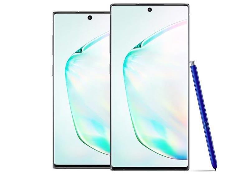 Две версии Galaxy Note 10