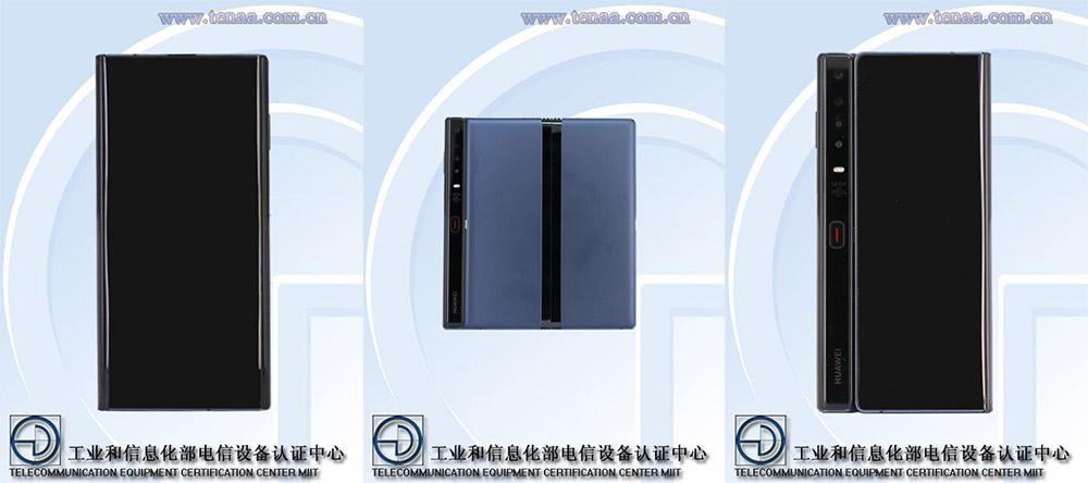 Huawei Mate X новые рендеры