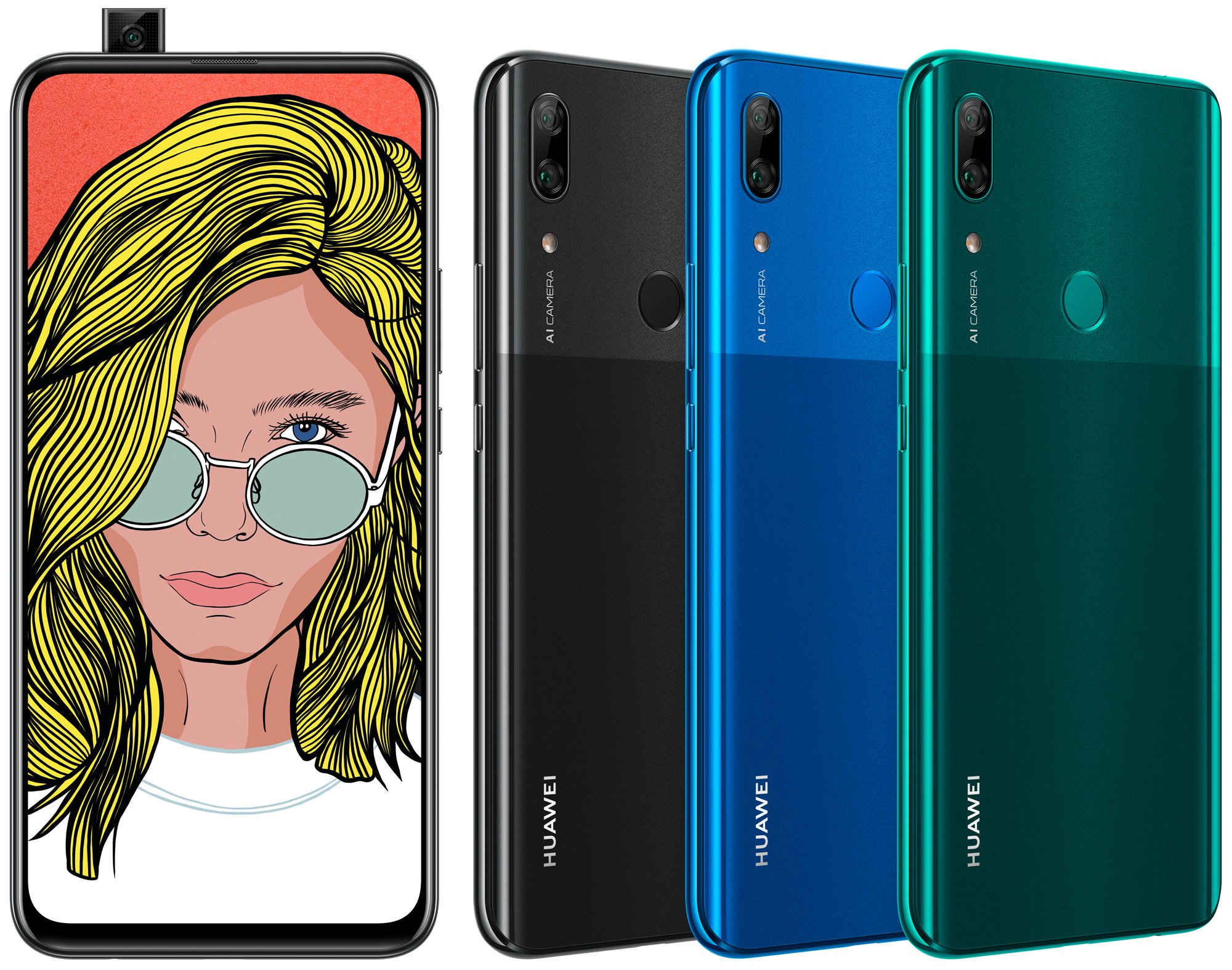 huawei p smart z colors