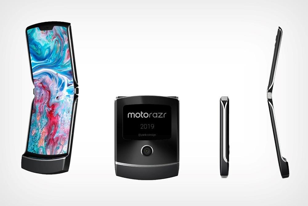 Motorola RAZR 2019 renders