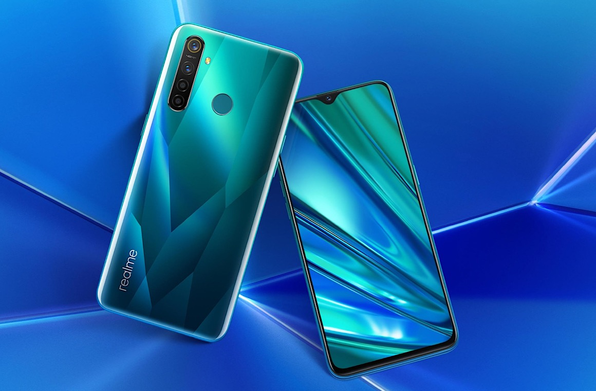Realme 5 Pro Back and Front