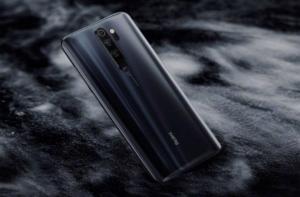 Redmi Note 8 Pro в черном цвете