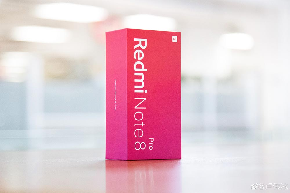 Упаковка Redmi Note 8
