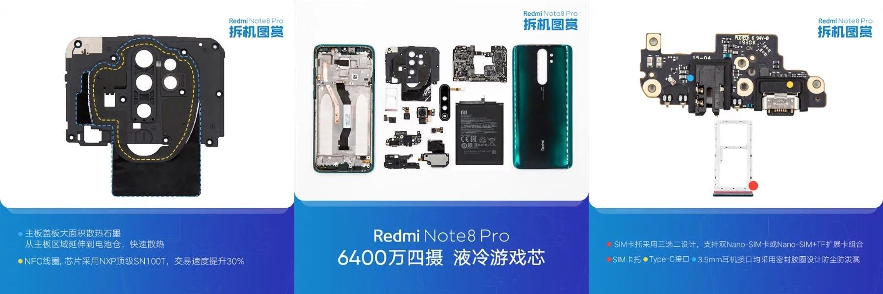 Redmi Note 8 Pro Teardown