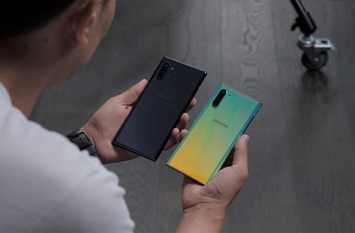 Задняя крышка Samsung Galaxy Note 10