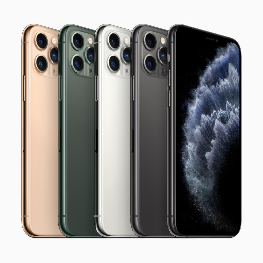 iPhone 11 Pro цвета