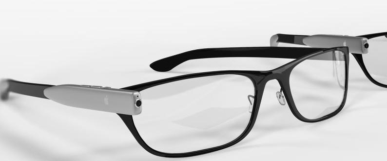 Apple AR-glasses Render