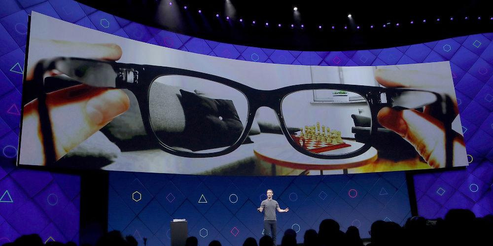 Презентация AR-очков Facebook