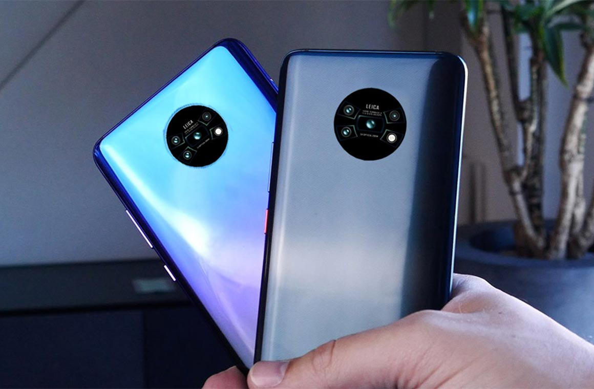 Задняя панель Mate 30 Pro от Huawei