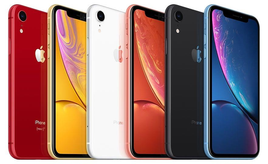 Apple iPhone Xr Colours