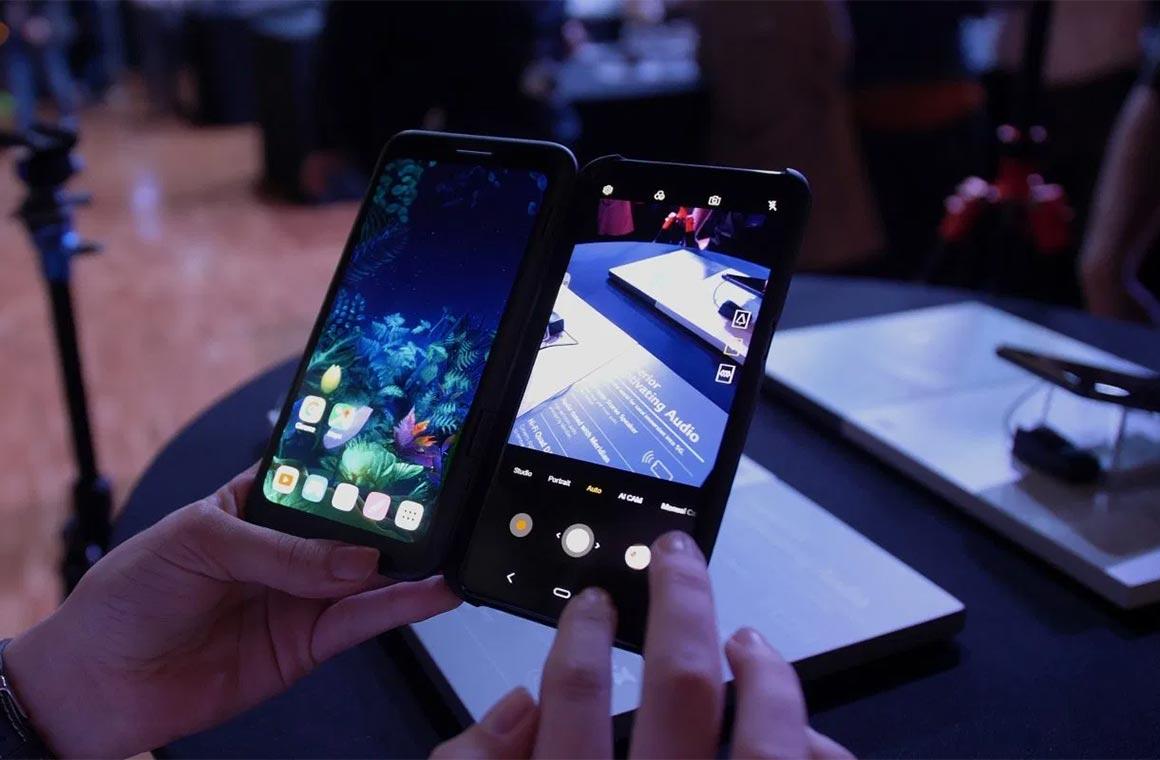 LG V50 Dispay Case
