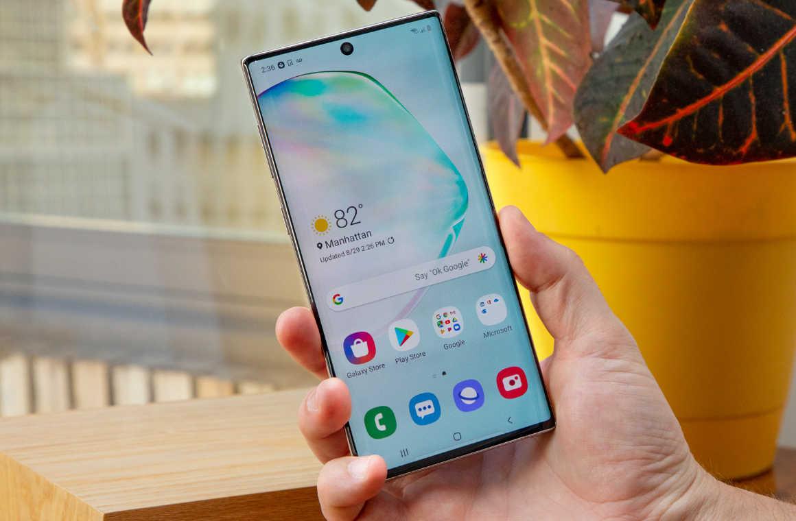 Фронтальная панель Samsung Galaxy Note 10