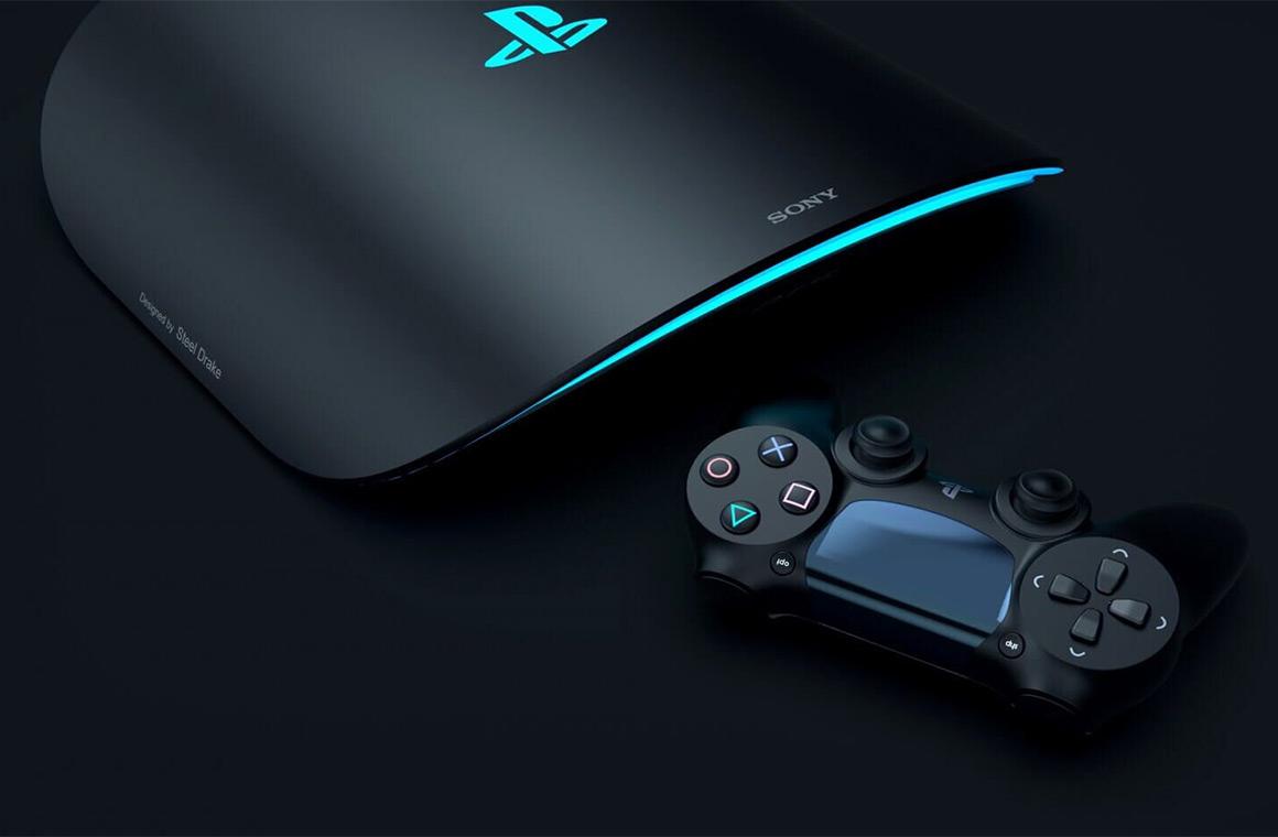 Рендер Sony PlayStation 5