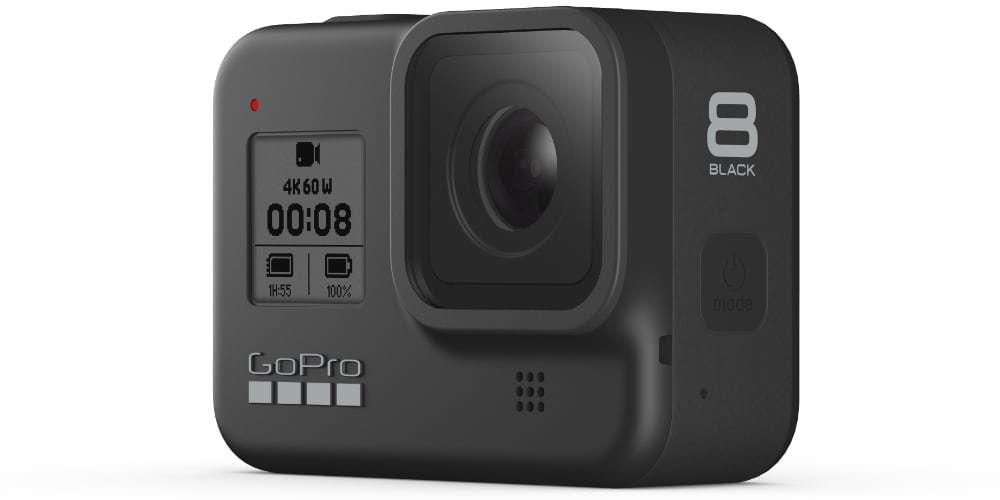 GoPro Hero 8 в черном цвете
