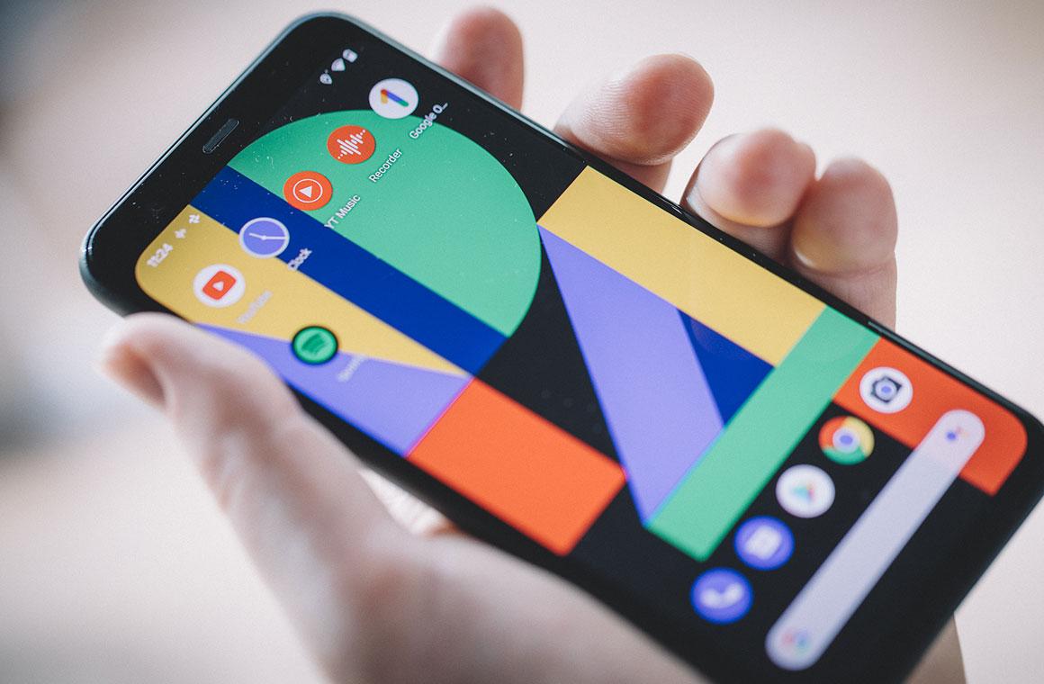 Google Pixel 4 экран