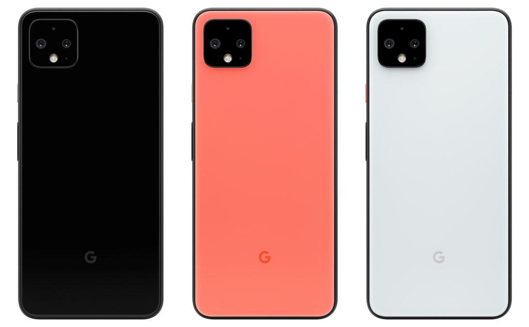 Google Pixel 4 цвета
