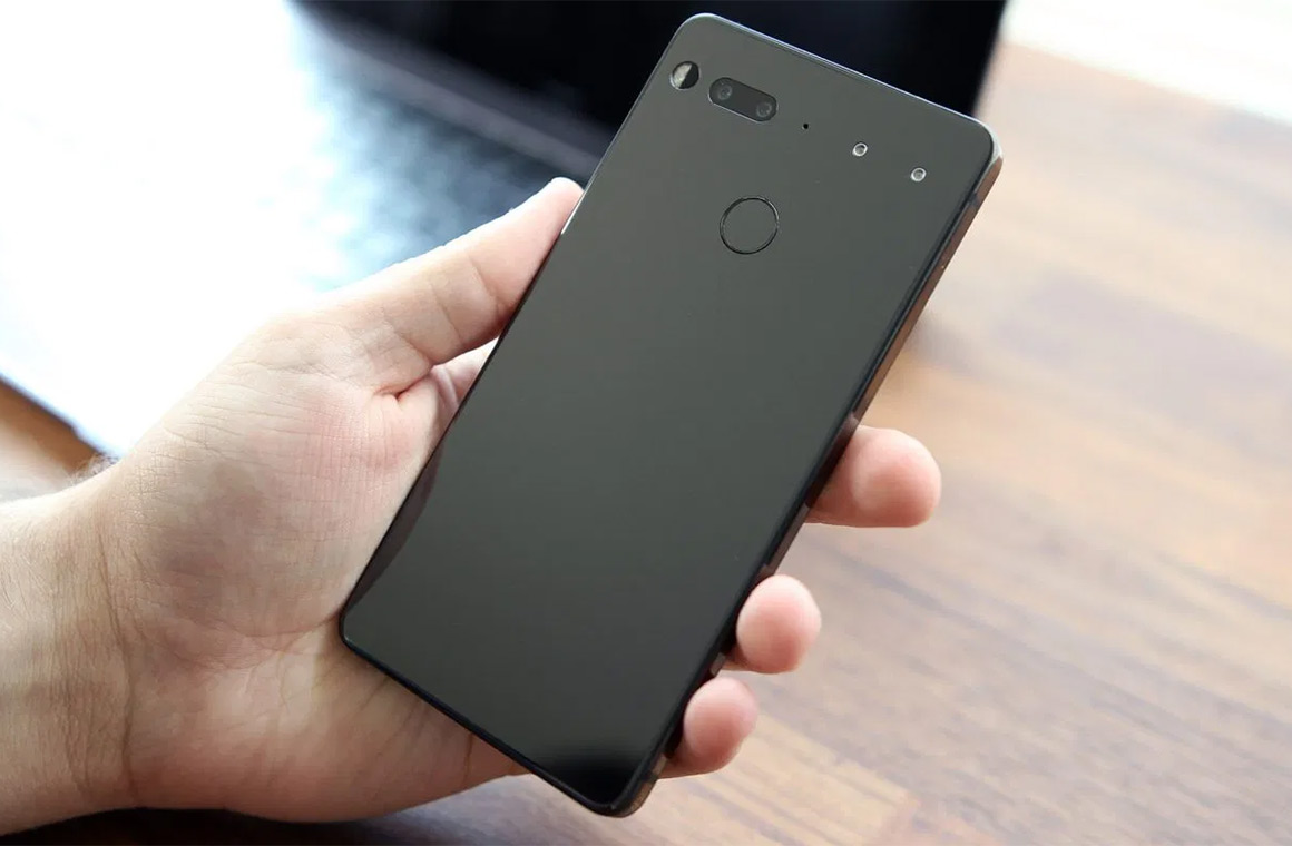 Essential Phone Back