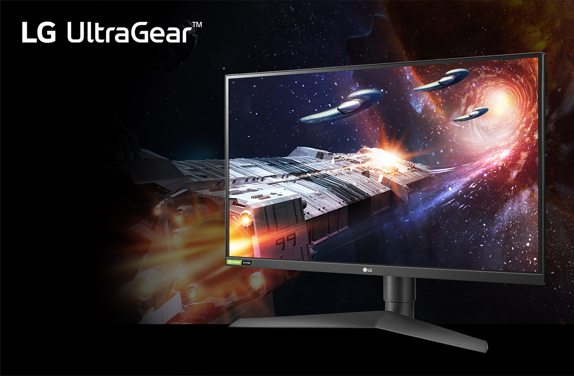 Игровой монитор LG UltraGear