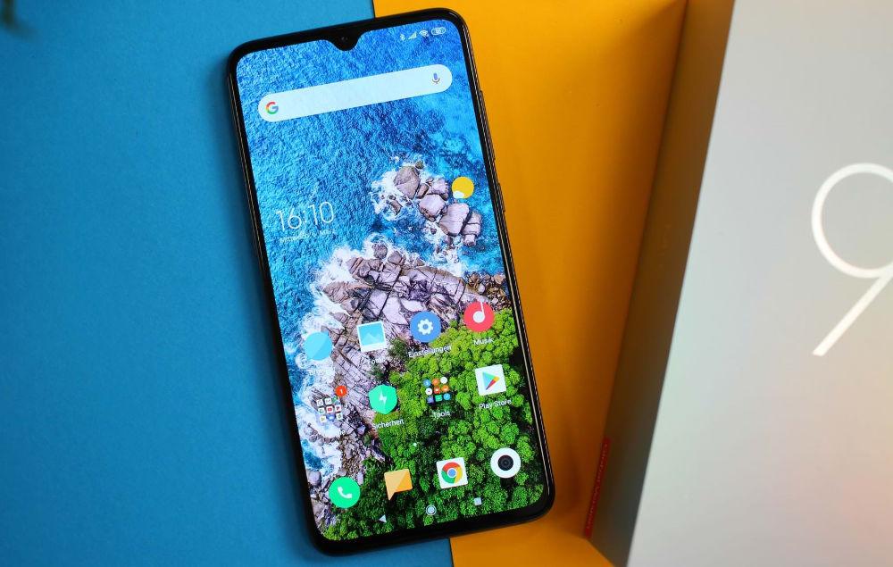 Внешний вид Xiaomi CC9