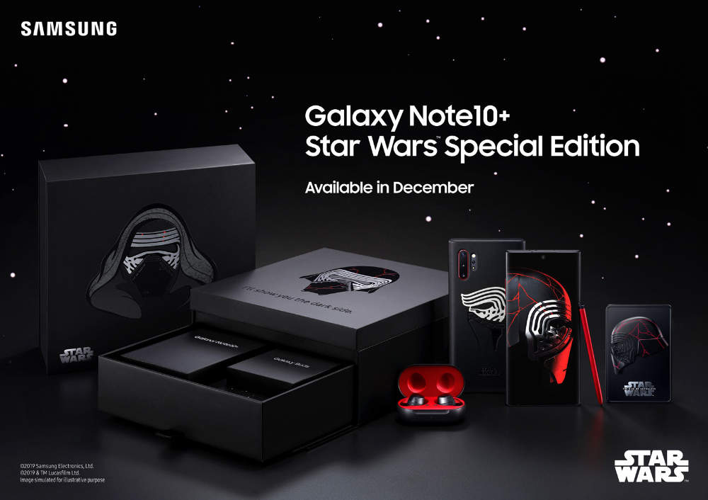 Star Wars Edition Galaxy Note 10+
