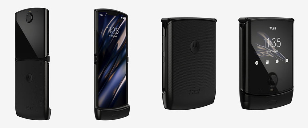 Motorola RAZR 2019 Дизайн
