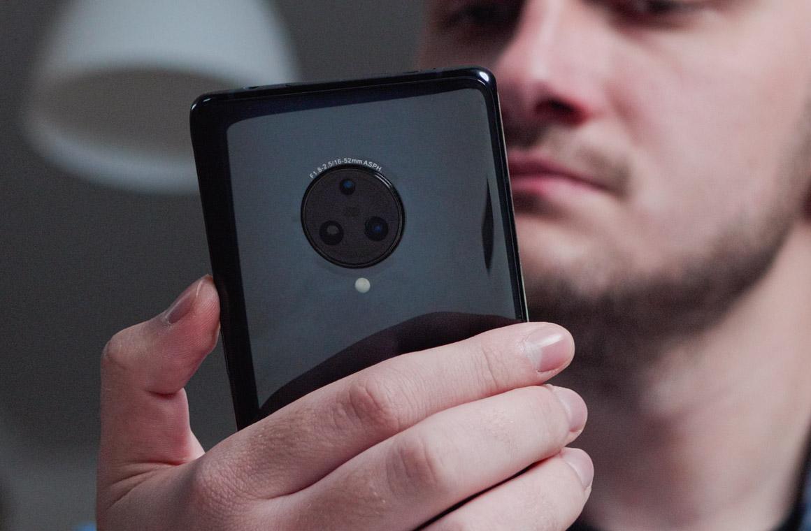 Vivo NEX 3 buttons