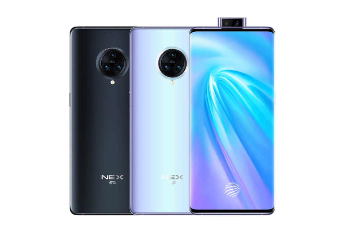 Vivo NEX 3 colors