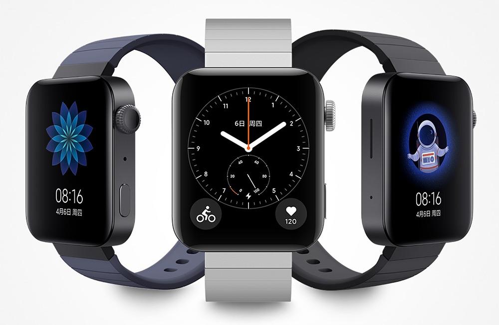 Xiaomi Mi Watch в разных цветах