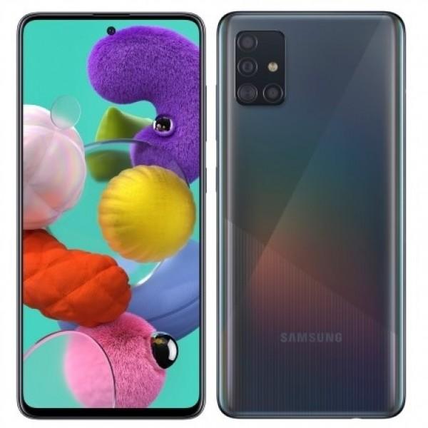 Samsung Galaxy A51 с двух сторон