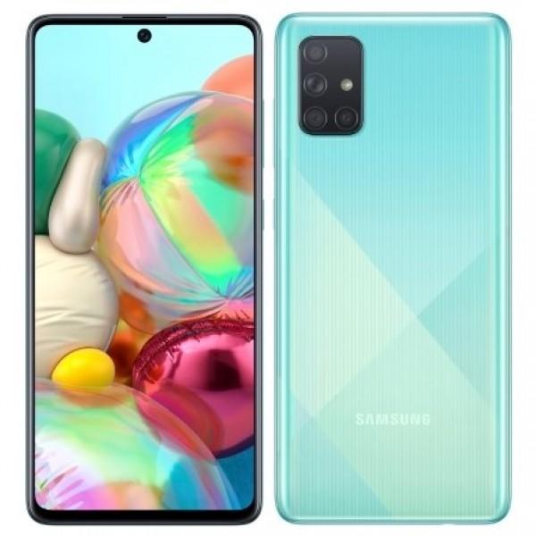 Samsung Galaxy A71 с двух сторон