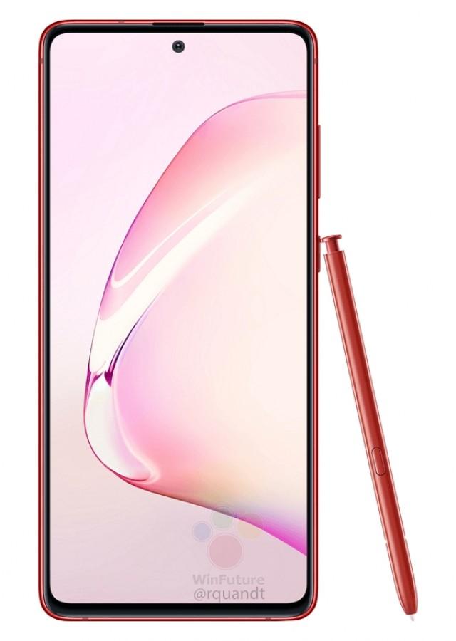 Samsung Galaxy Note 10 Lite экран