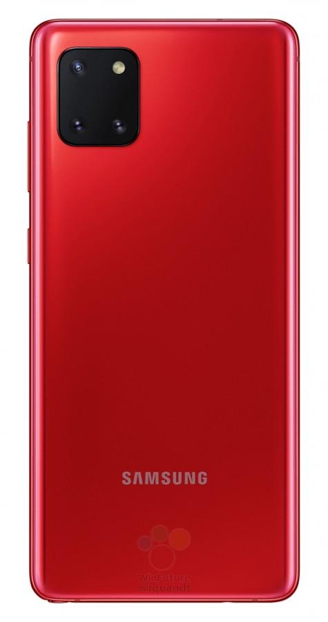 Samsung Galaxy Note 10 Lite сзади