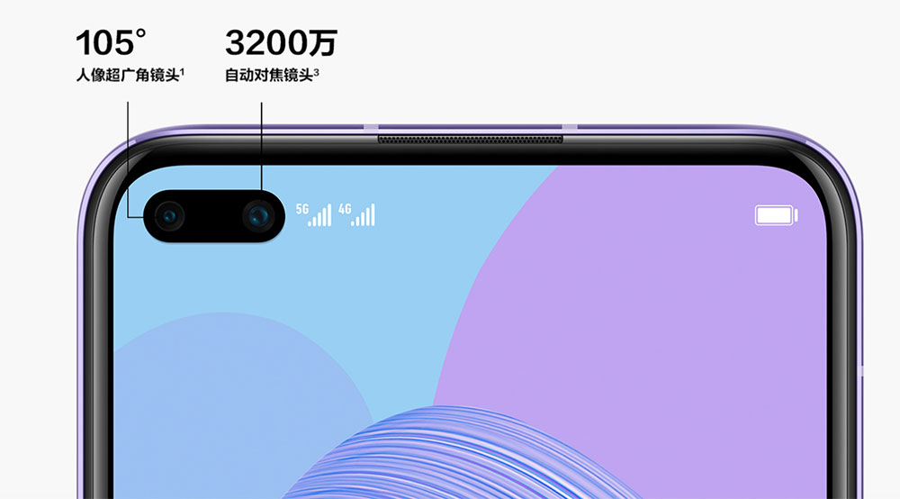 Huawei Nova 6 5G Camera