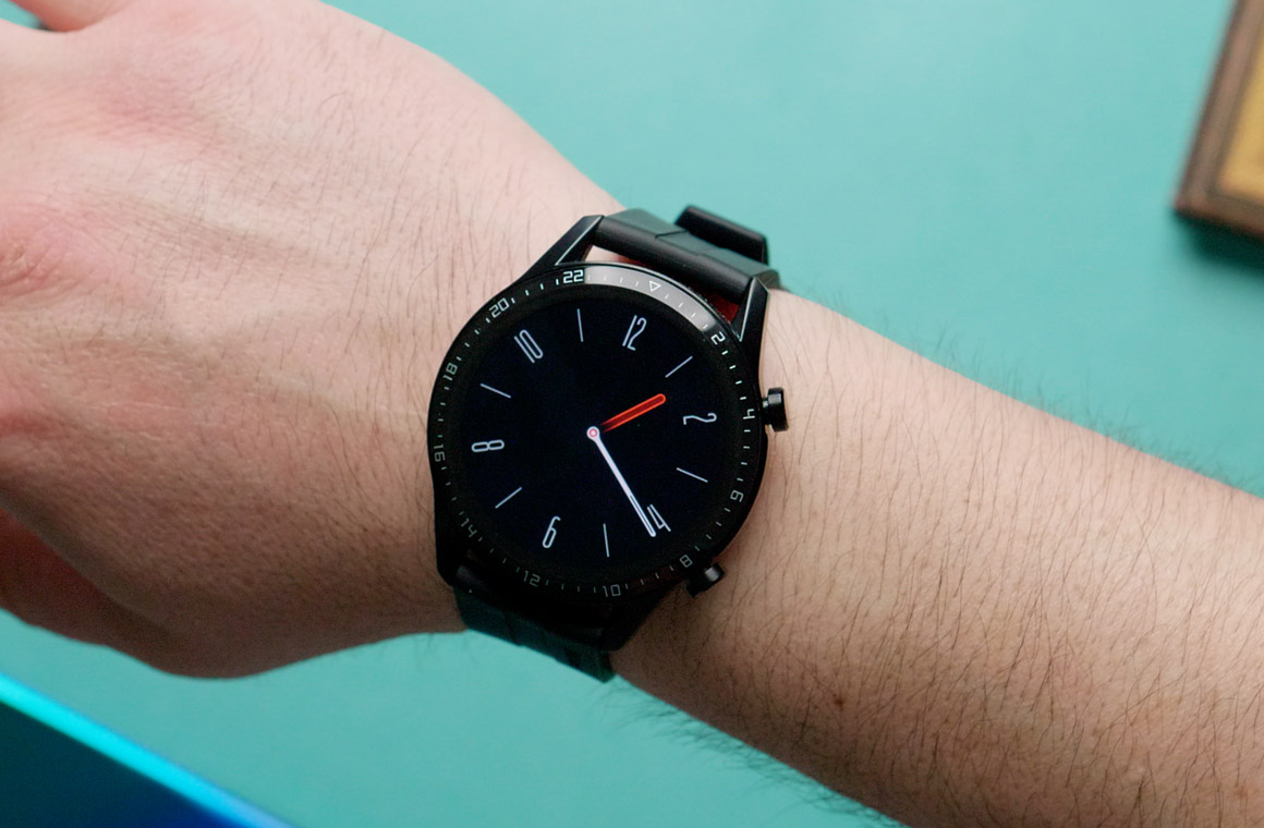 huawei watch gt2 ergonomics