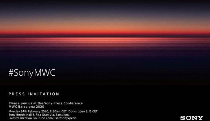 Sony на MWC 2020