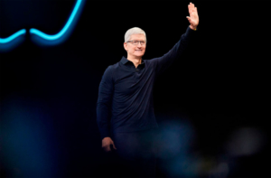 Apple Q1 Profit Tim Cook