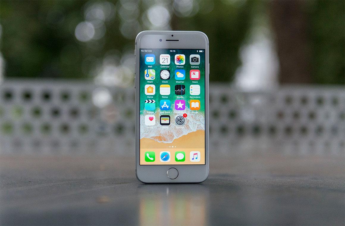 Белый Apple iPhone 8