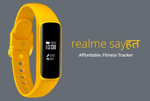 Предполагаемый дизайн Realme Band