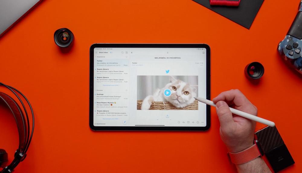 Spark на iPad Pro