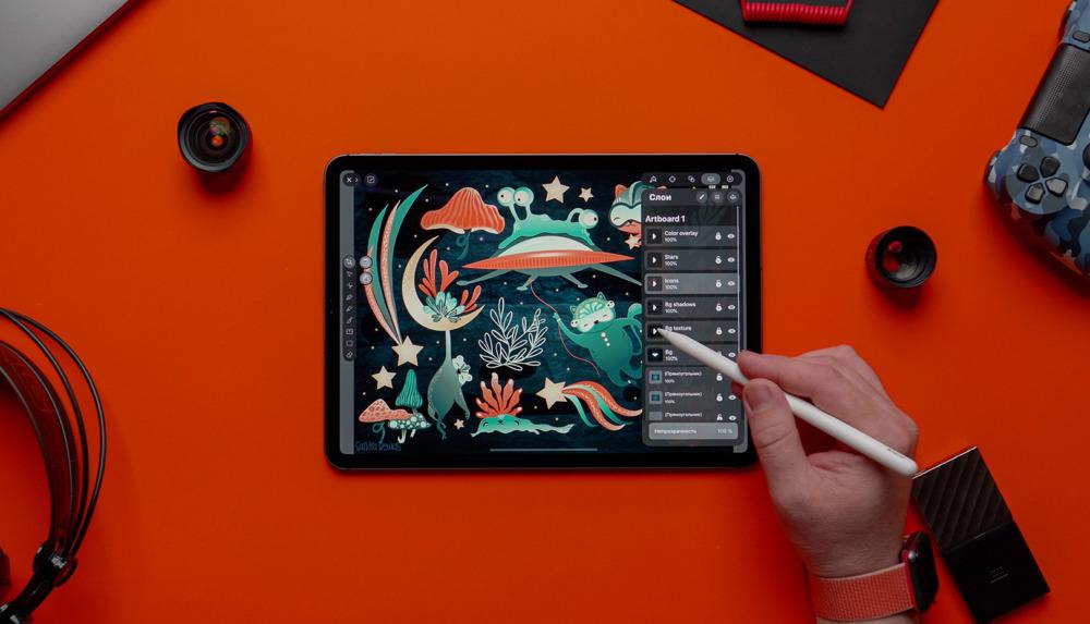vectornator pro на iPad