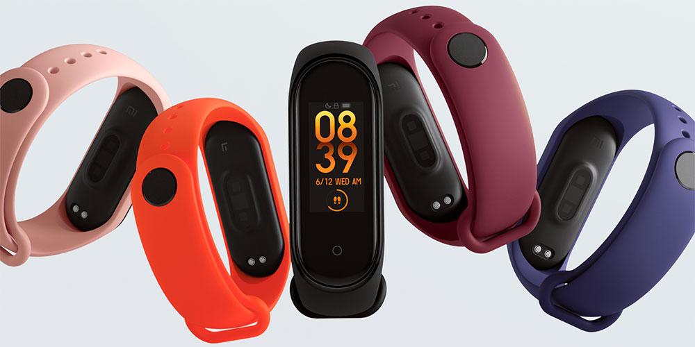 Xiaomi Mi Band 4 Colours
