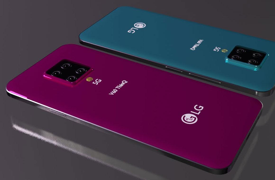 LG V60 ThinQ 5G рендер