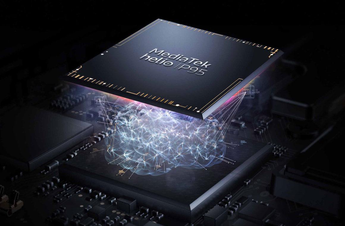 Mediatek Helio P95 чип