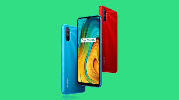Realme C3 в двух цветах