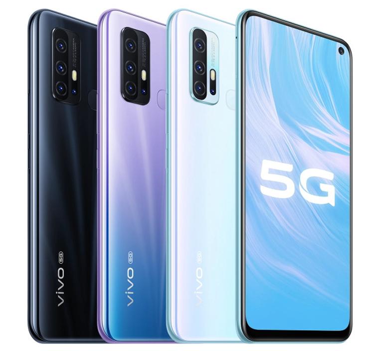 Vivo Z6 5G цвета